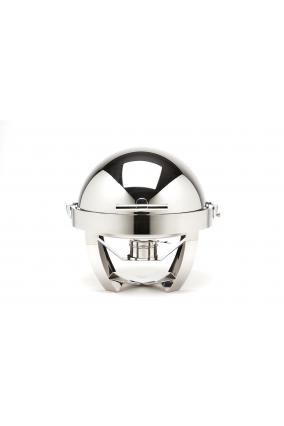"Chafing dish rond ""stainless steel feet"""